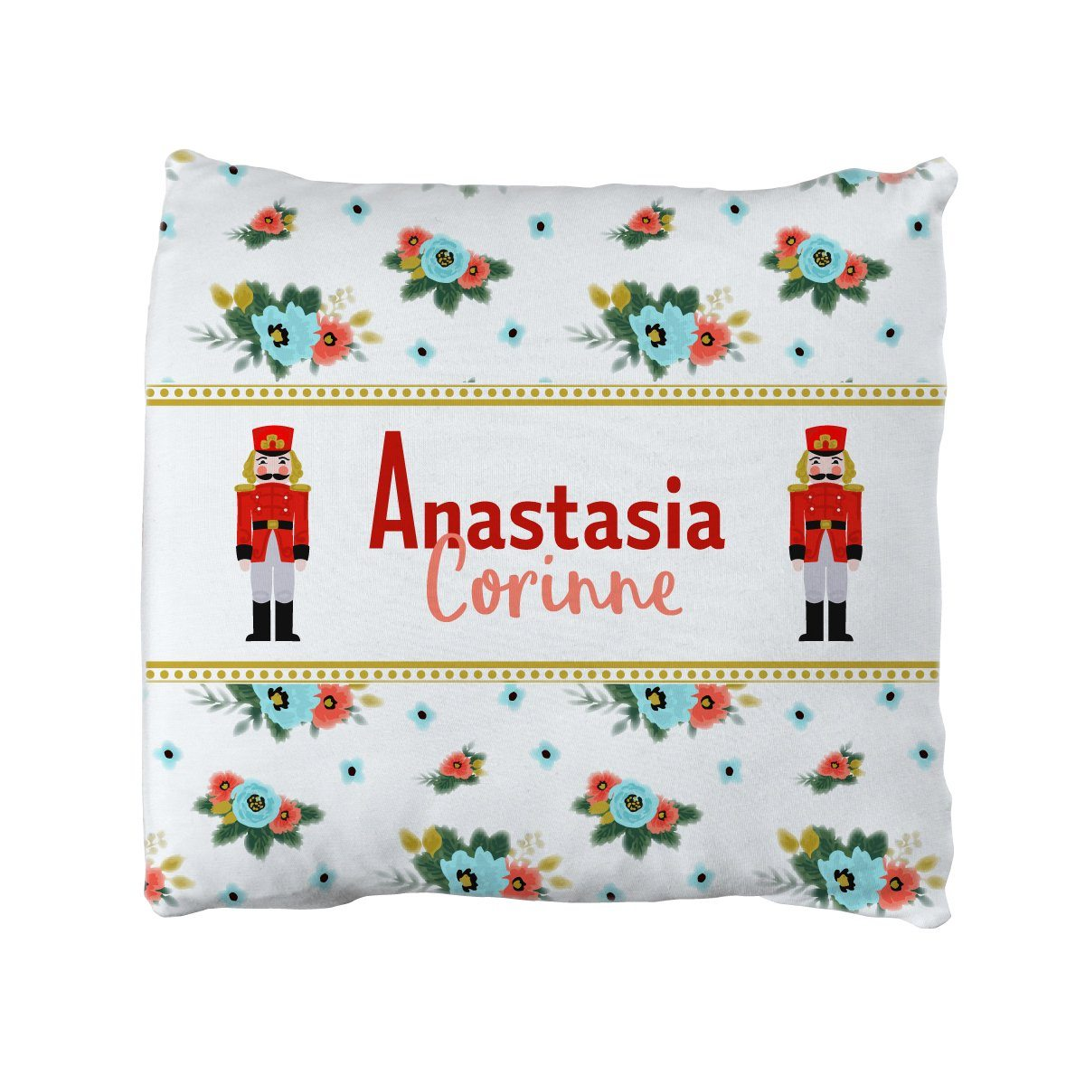 Anna's Nutcracker Tale | Big Kid Throw Pillow