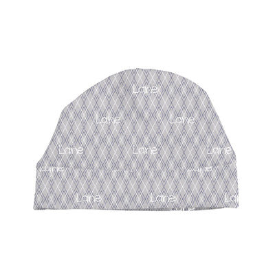 Logan's Argyle | Swaddle and Hat Set