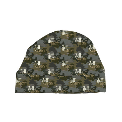 Crew's Woodland Camo| Swaddle and Hat Set