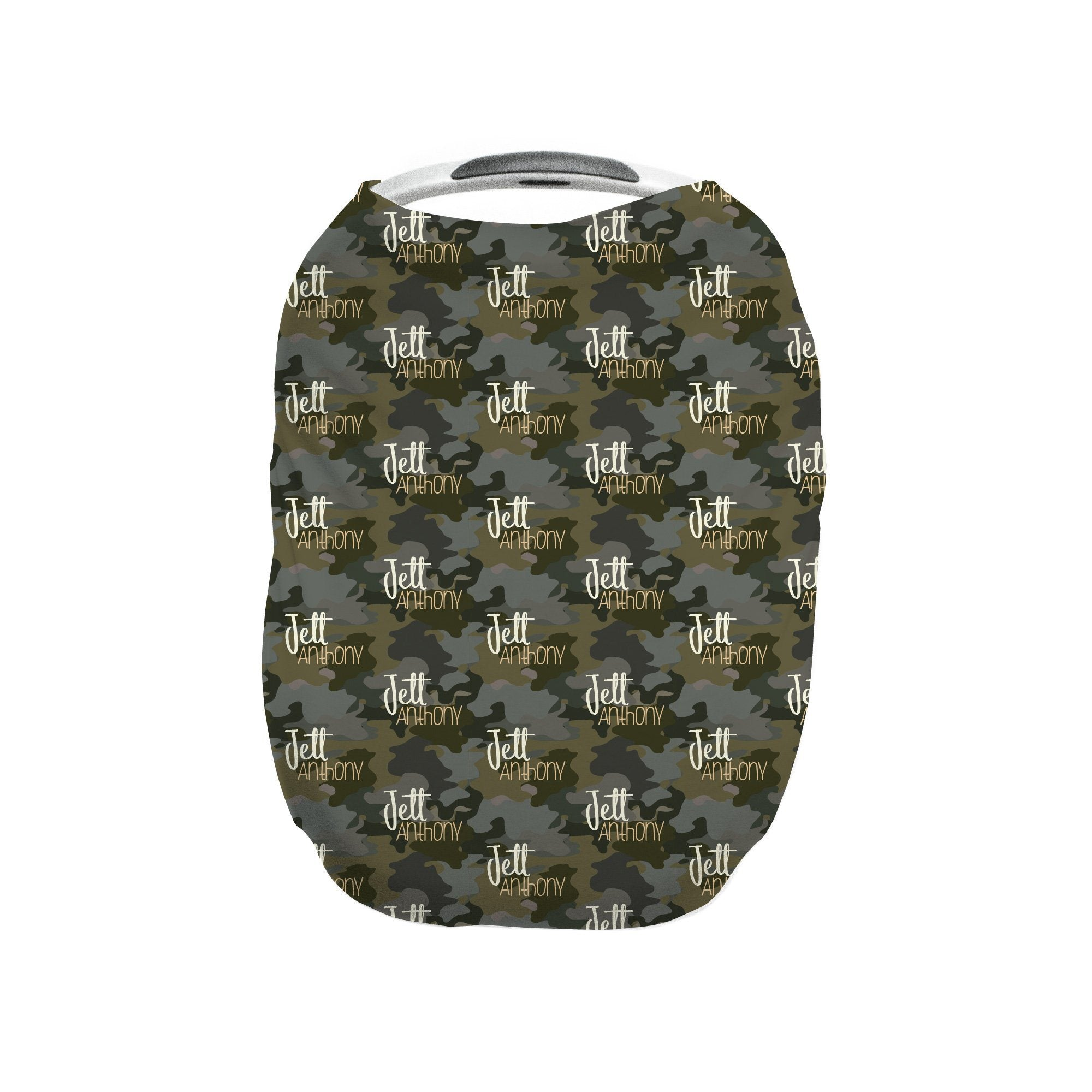 Crew's Army Camo | Car Seat Cover (Multi-Use)