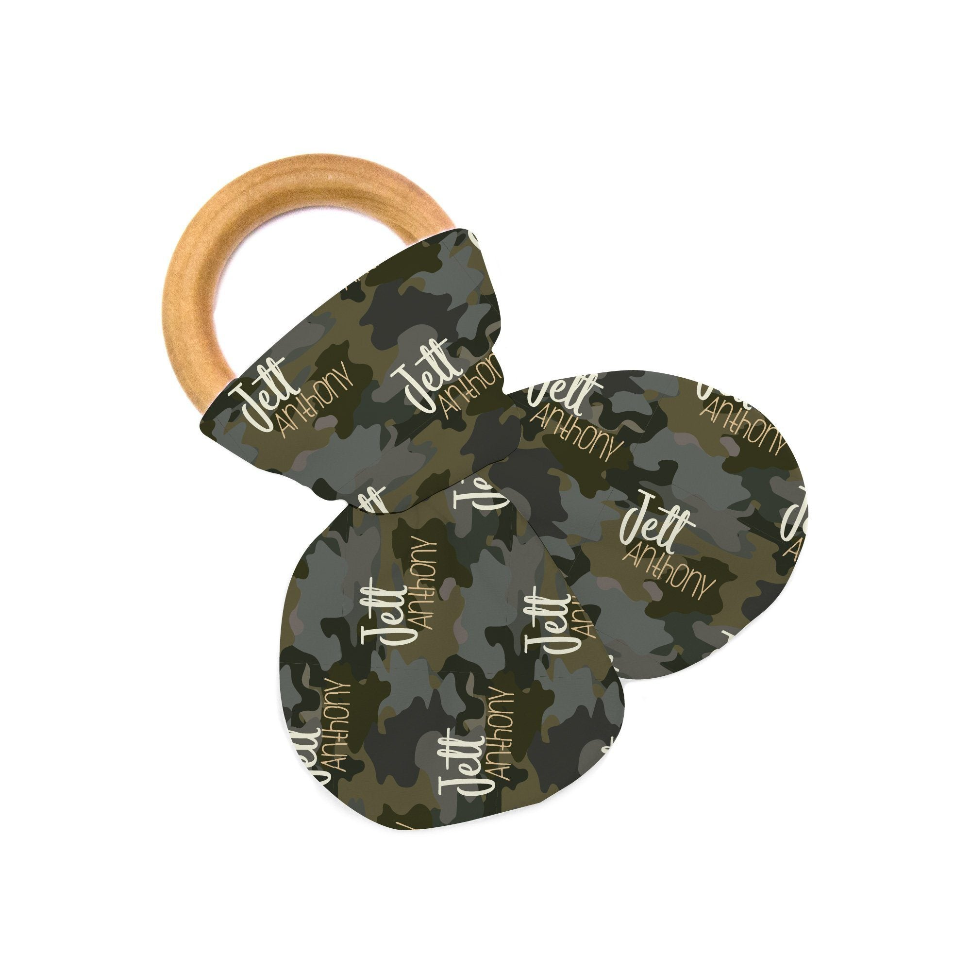 Crew's Woodland Camo | Teether