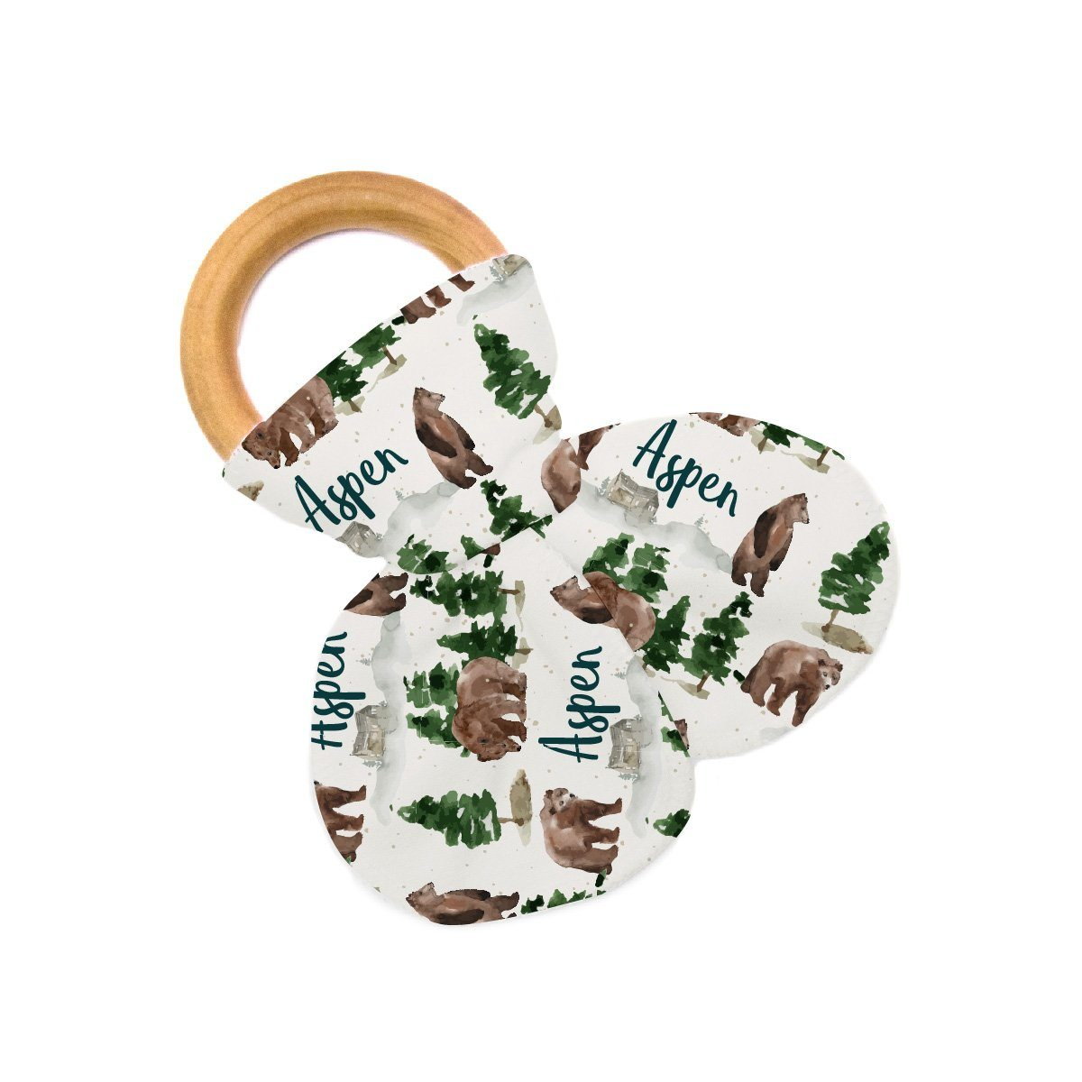 Aspen's Brown Bear | Teether