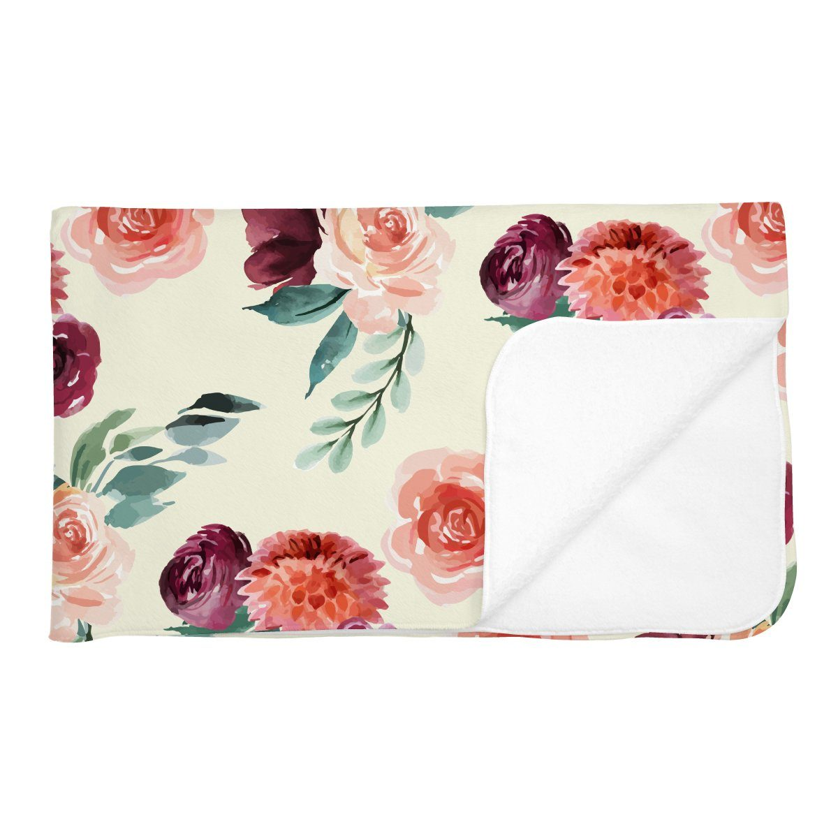 Alice's Autumn Rose | Adult Size Blanket