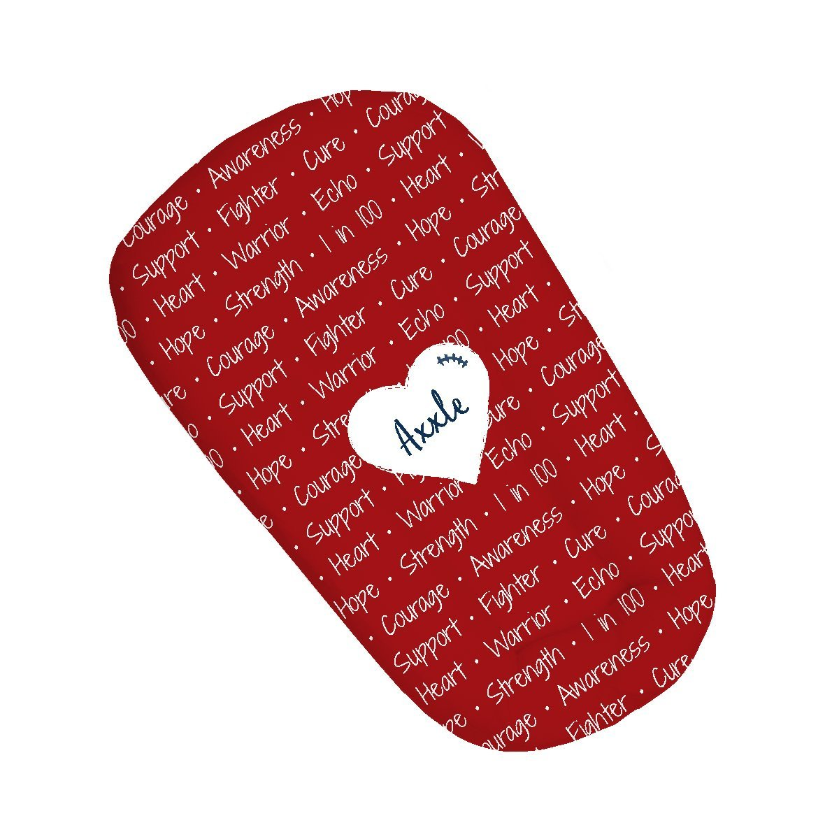 Axxle's Heart Warrior | Sleep Nest Covers for DockATot™