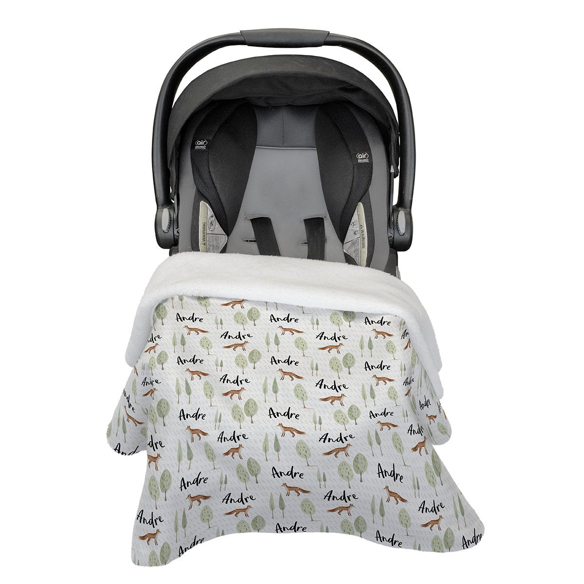 Brene's Walk Through the Woods | Car Seat Blanket