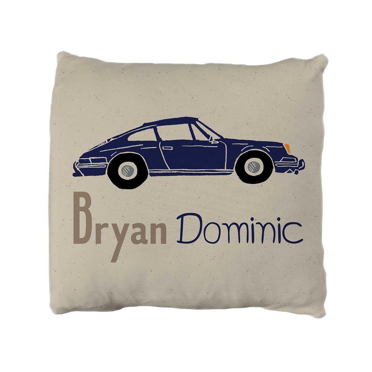 Bryan's Car Show | Big Kid Throw Pillow