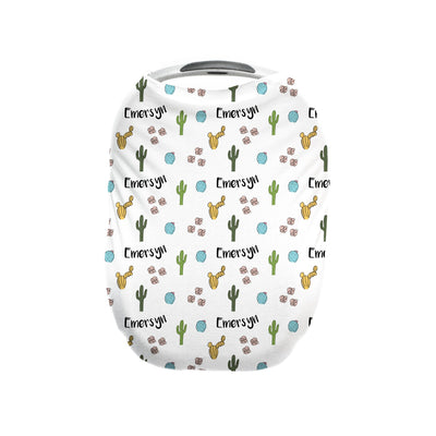 Claire's Cactus Blossoms | Car Seat Cover (Multi-Use)