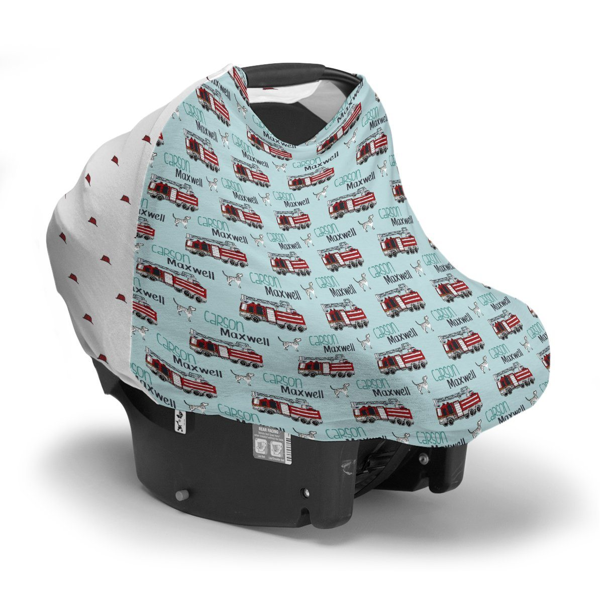 Carson's Fire Engine | Car Seat Cover (Multi-Use)