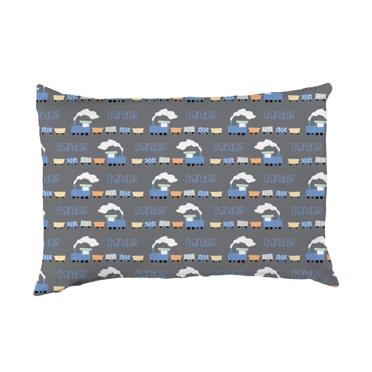 Chandler's Choo Choo Train | Big Kid Pillow Case