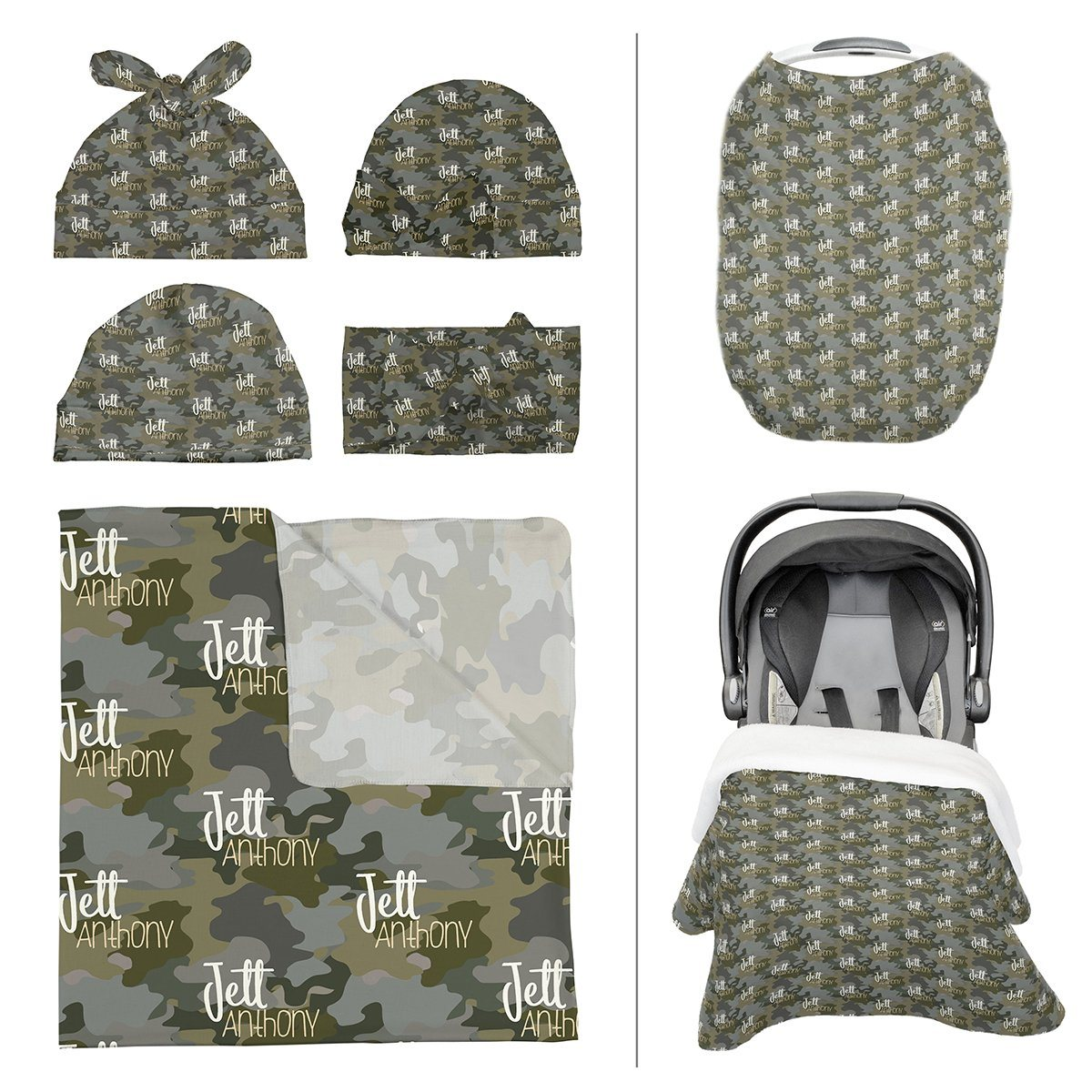 Crew's Woodland Camo | Take Me Home Bundle