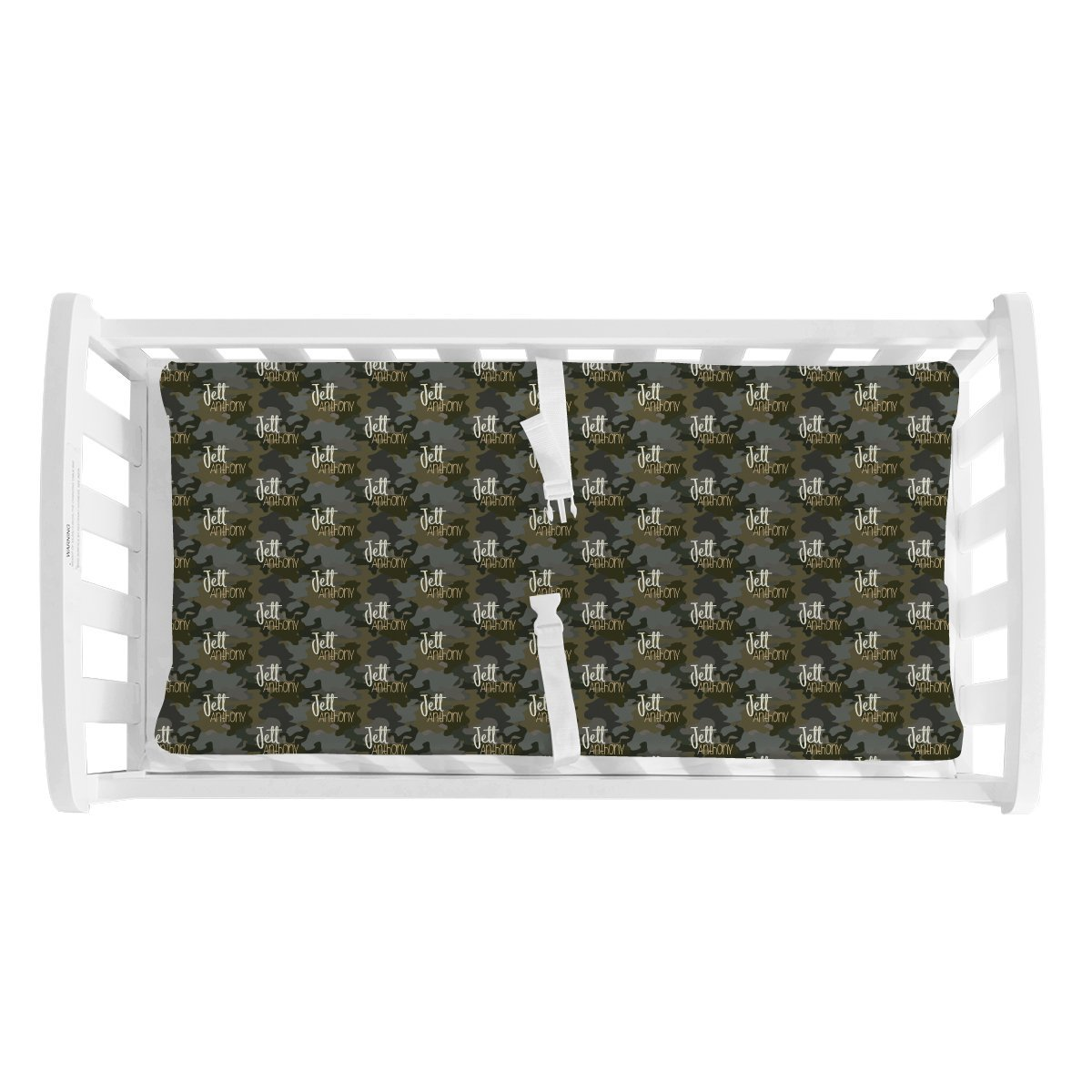 Crew's Woodland Camo | Changing Pad Cover