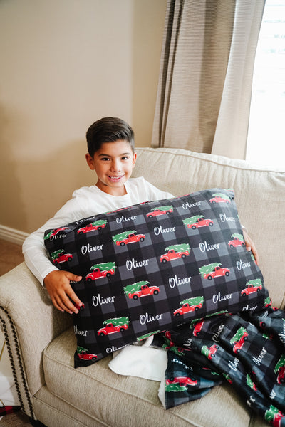 Oliver's Christmas Adventure | Big Kid Pillow Case