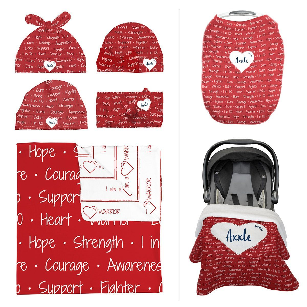Axxle's Heart Warrior | Take Me Home Bundle