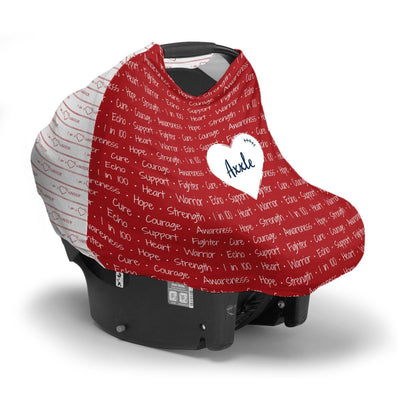 Axxle's Heart Warrior | Car Seat Cover (Multi-Use)