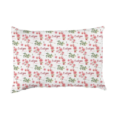 Evelynn's Spring Blossoms | Big Kid Pillow Case