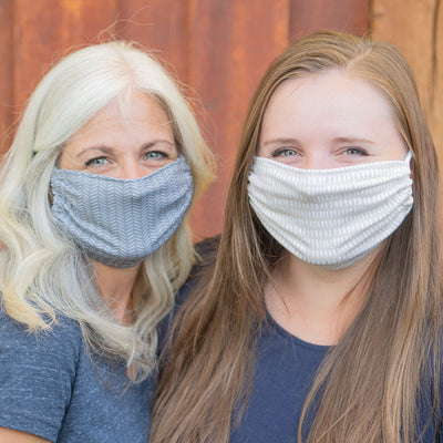 Dashes | Fabric Face Mask