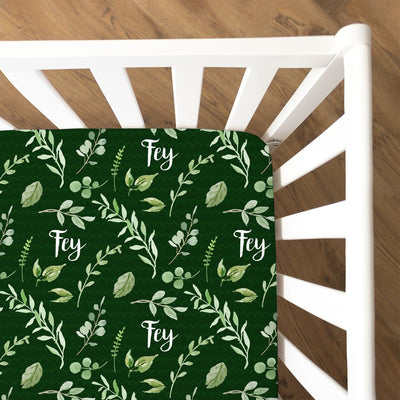 Fey's Fresh Floral | Fitted Crib Sheet