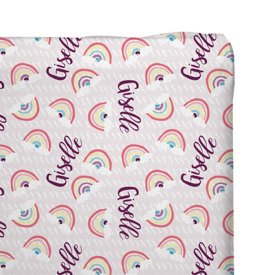 Gizelle's Sunlit Rainbow | Changing Pad Cover