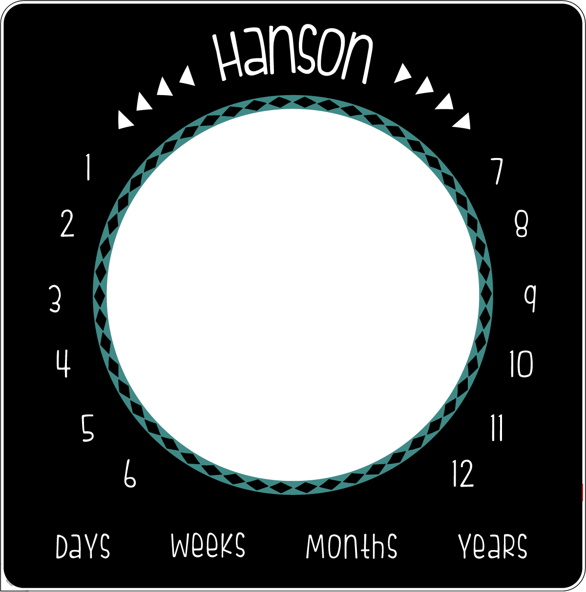 Hanson's Aztec and Arrows | Milestone Blanket