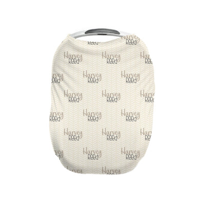 Harvey's Modern Herringbone | Car Seat Cover (Multi-Use)