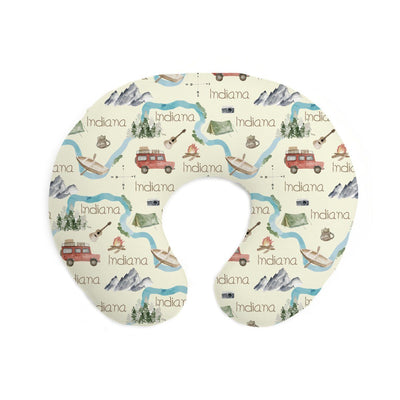 Indiana's Amazing Adventure | Pillow Cover for Boppy®