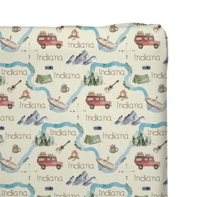 Indiana's Amazing Adventure | Changing Pad Cover