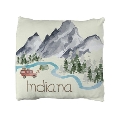 Indiana's Amazing Adventure | Big Kid Throw Pillow