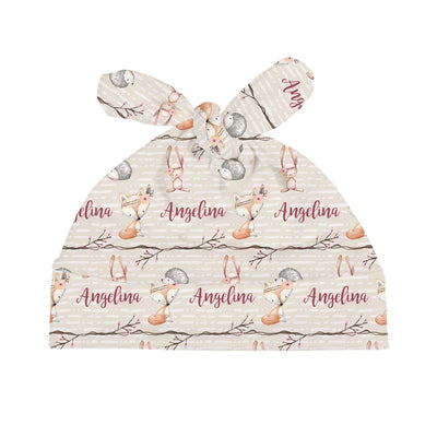 Issy's Forest Fox | Swaddle and Hat Set