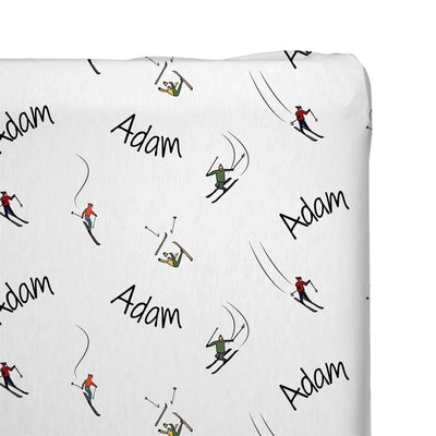 Jaden's Skiers | Changing Pad Cover