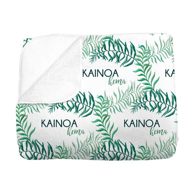Kainoa's Palm Tree | Big Kid Blanket