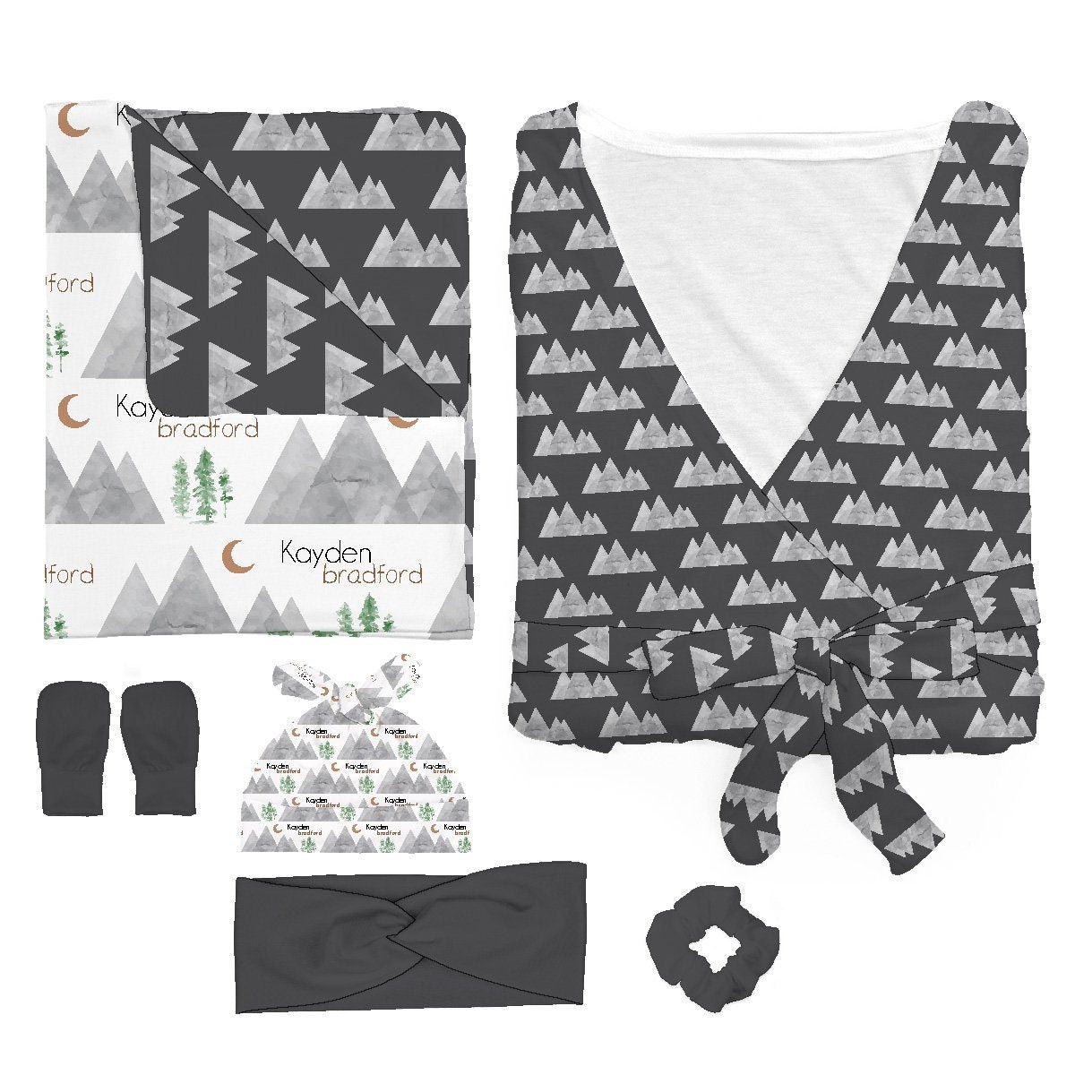 Kayden's Midnight Mountain | Mommy & Me Bundle