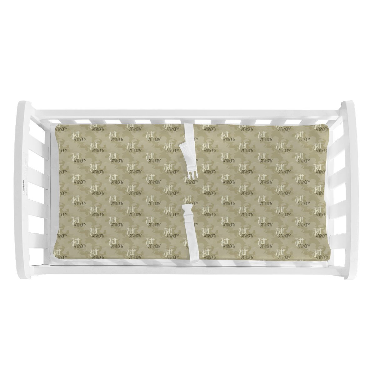 Lance's Desert Camo | Changing Pad Cover