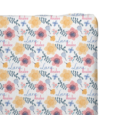 Lara's Fairy Floral | Changing Pad Cover