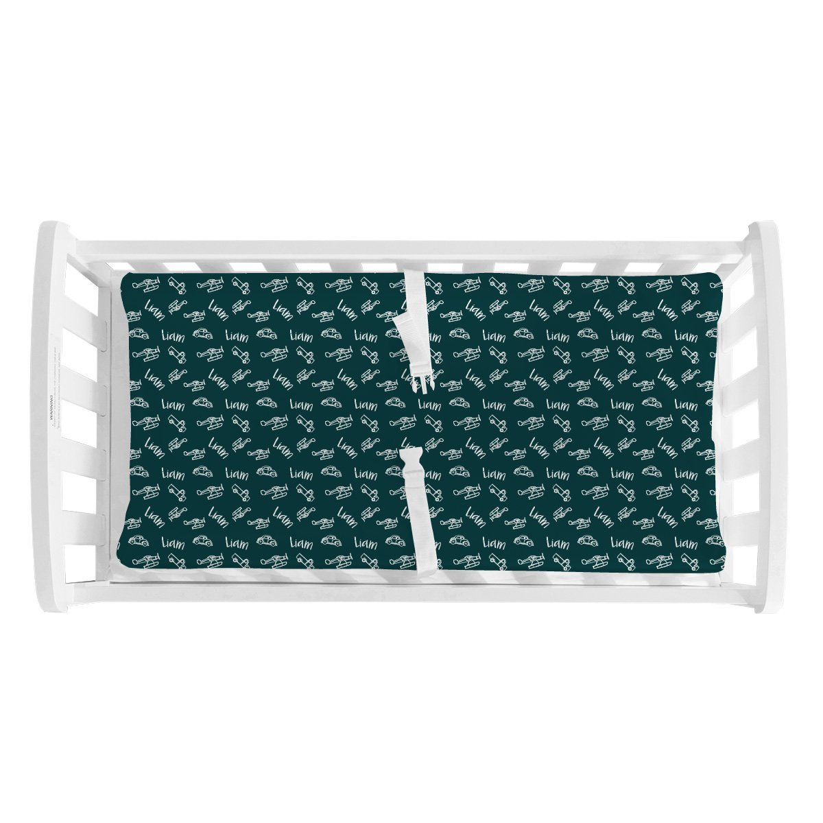 Liam's Wings and Wheels | Changing Pad Cover