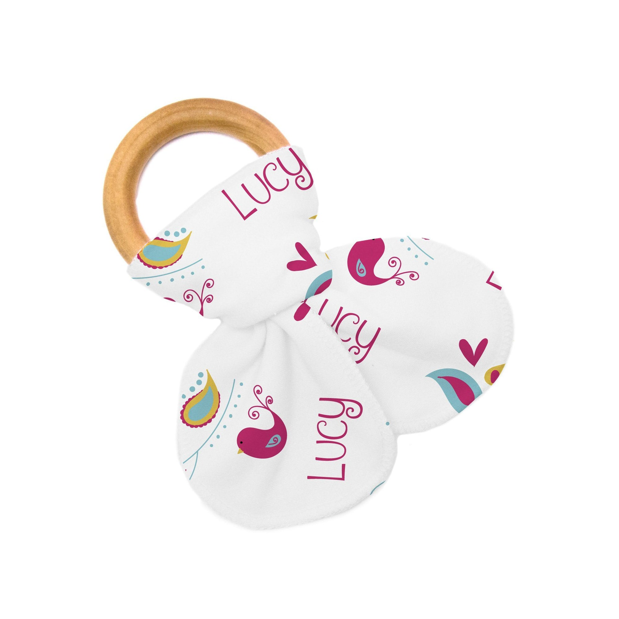 Jade's Love Birds | Teether