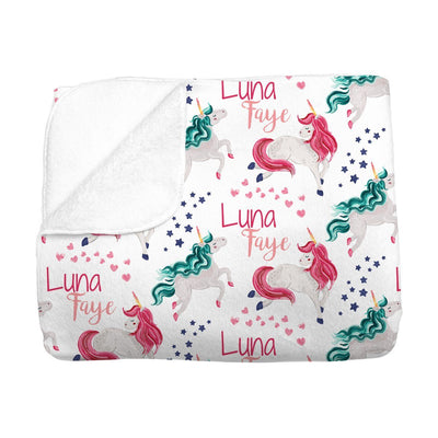 Luna's Magical Unicorn | Big Kid Blanket