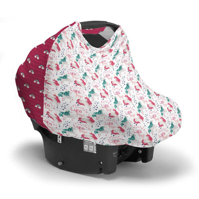 Luna's Magical Unicorn | Car Seat Cover (Multi-Use)