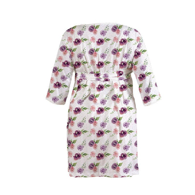 Margot's Magenta Floral | Robe