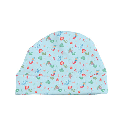 Ellie's Mermaids | Swaddle and Hat Set