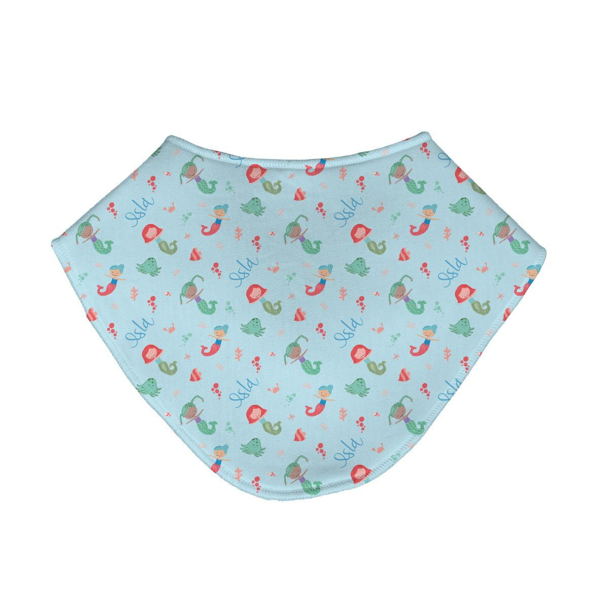 Ellie's Mermaids | Baby Bib