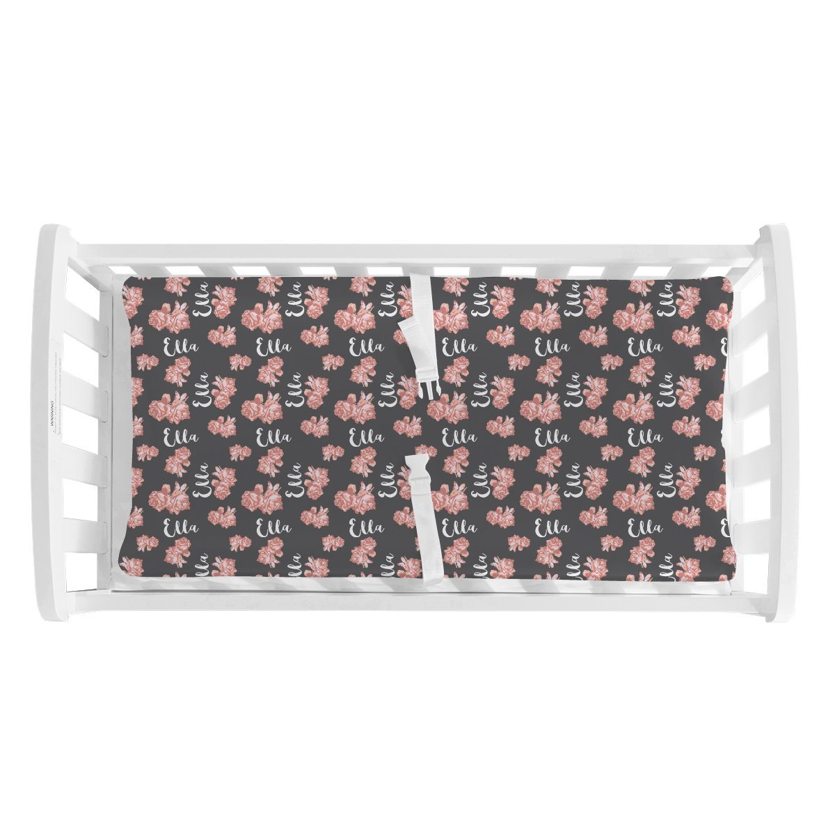 Nicole's Vintage Floral | Changing Pad Cover