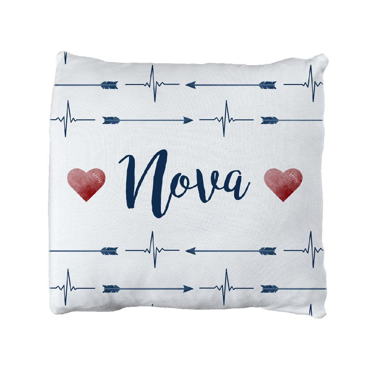 Nova's Heart and Arrow | Big Kid Throw Pillow