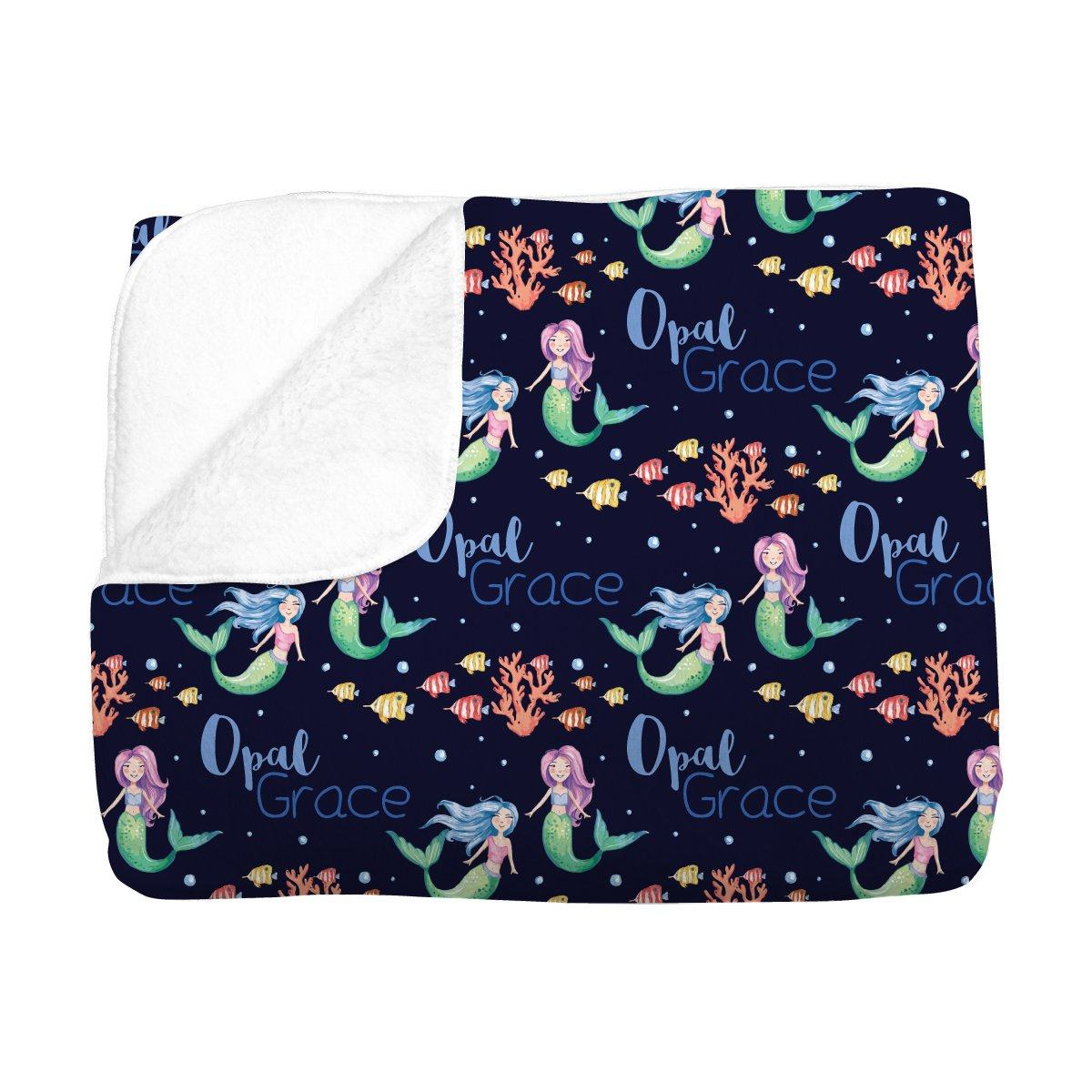 Opal's Mythical Mermaid | Big Kid Blanket
