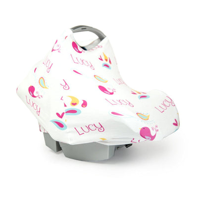 Jade's Love Birds | Car Seat Cover (Multi-Use)