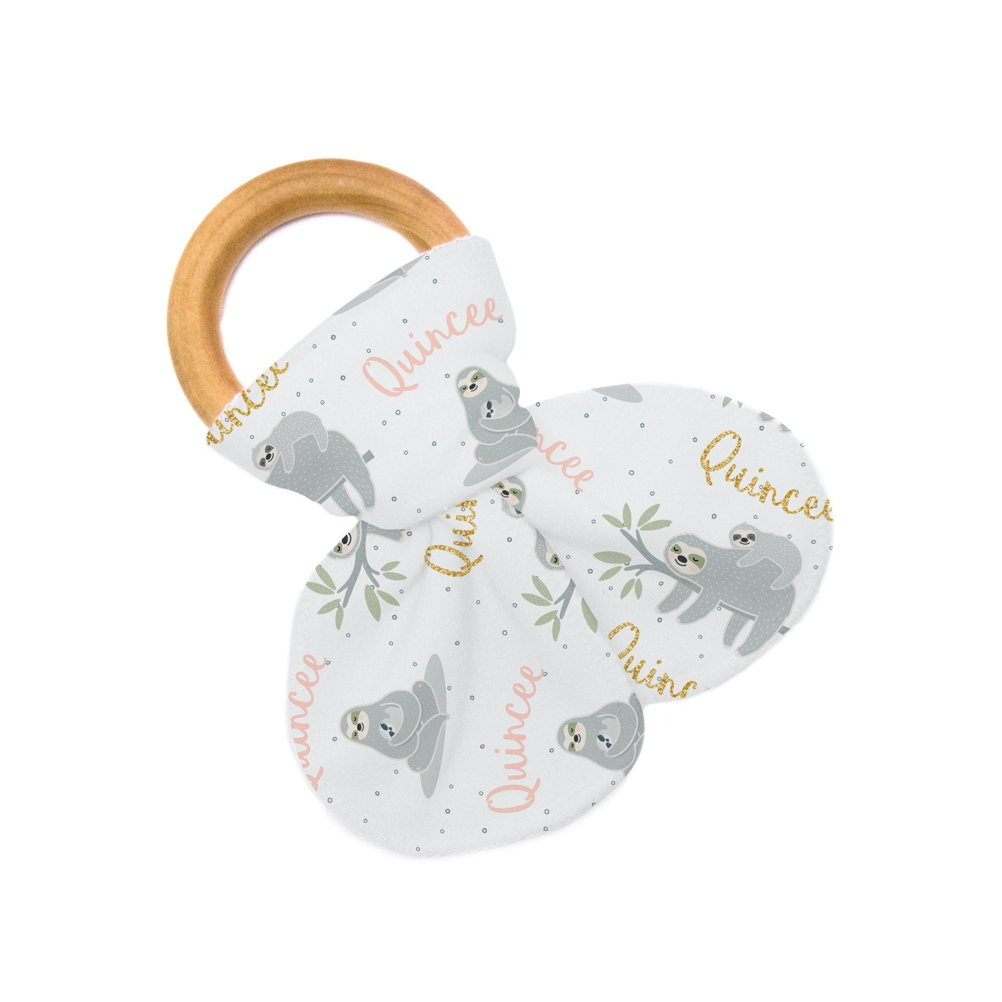 Quincee's Mama Sloth | Teether
