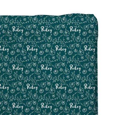Riley's Pumpkin Patch | Changing Pad Cover