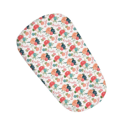 Rosalee's Blush & Blue Floral | Sleep Nest Covers for DockATot™