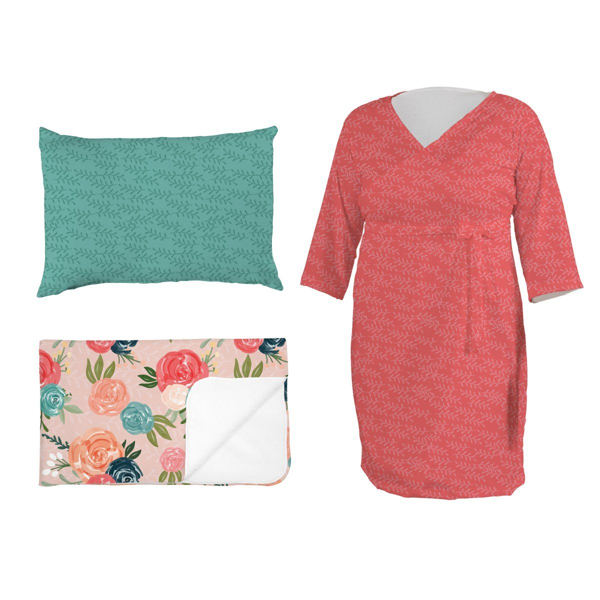 Roaslees Blush and Blue | Mommy Bundle