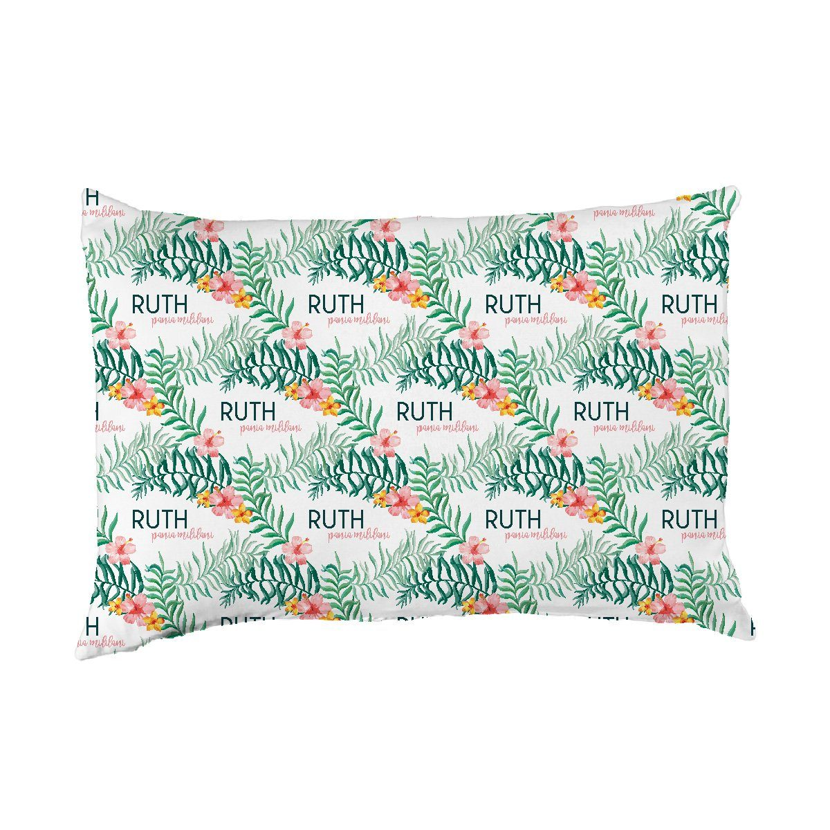 Ruth's Pua Lei | Big Kid Pillow Case