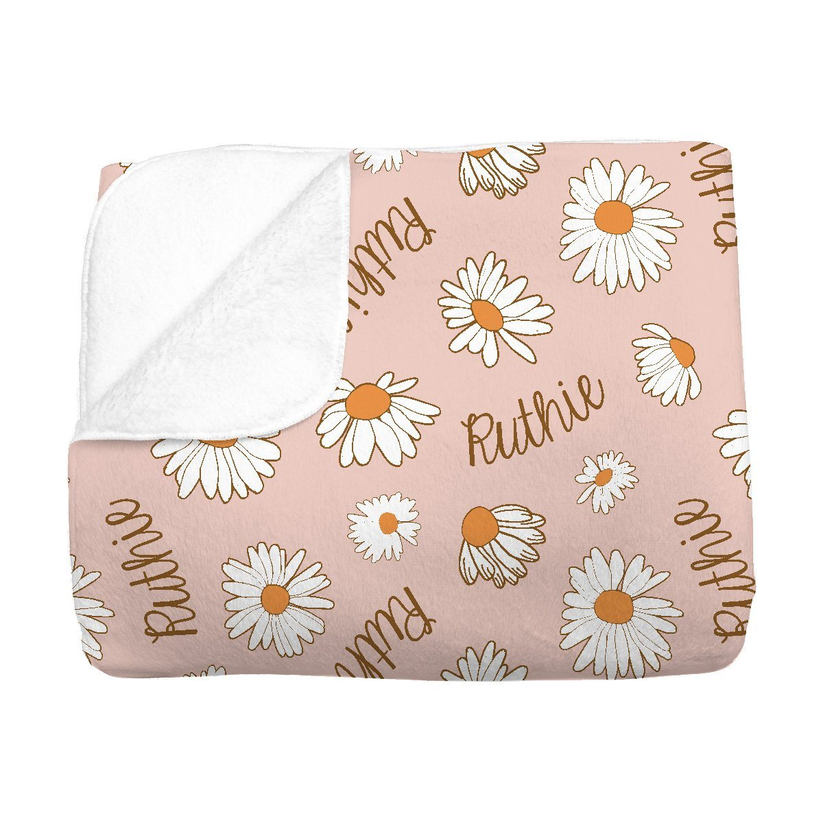 Ruthie's Far Out Floral | Big Kid Blanket